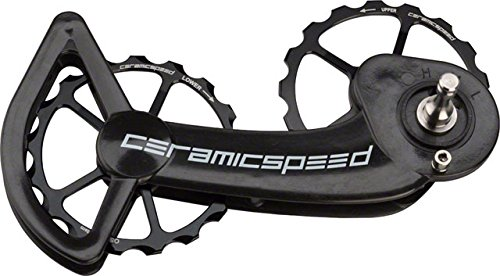 174458c8f7a CeramicSpeed Oversized Pulley Wheel System with Coated Bearings SRAM eTap  11-Speed, Alloy Pulleys