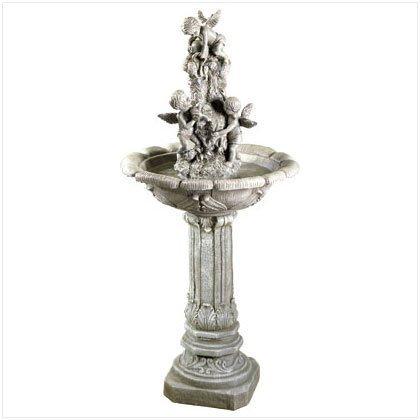 #33631 Playful Cherubs Fountain by Outdoor Classics