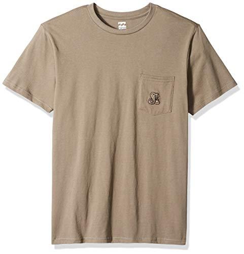 (Billabong Men's Division T-Shirt Olive)