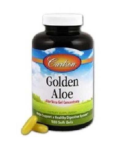 Carlson Golden Aloe 100mg Softgels