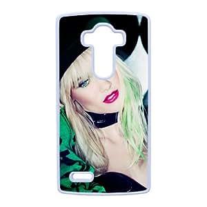 LG caja del teléfono celular G4 funda blanca Nervo R1L1SY