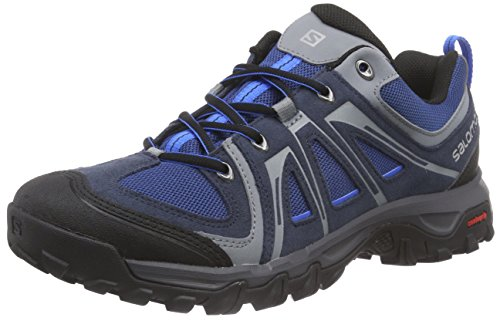 Salomon Men's Evasion Aero Hiking Shoe,Deep Blue/Gentiane/Union Blue,US 8.5 M Aero Hiking Shoes