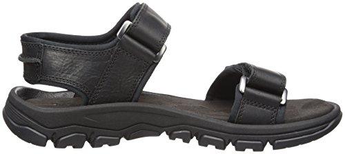 Sandalo Uomo Timberland Roslindale 2 Cinturini Nero Pieno Fiore