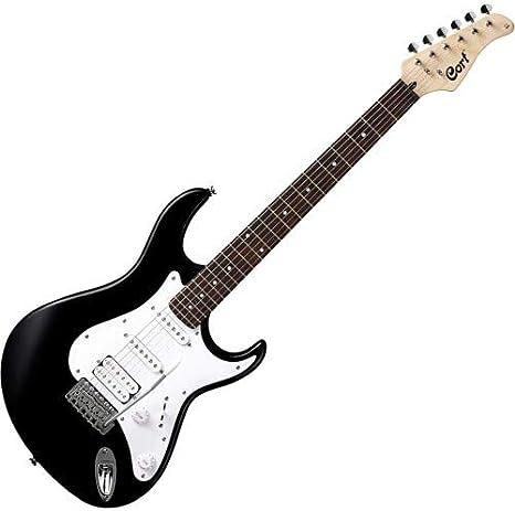 Cort G 110 - Guitarra eléctrica, color negro: Amazon.es ...