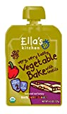 Ella's Kitchen Organic 6+ Months Baby Food, Vegetable Bake with Lentils, 4.5 oz. Pouch (Pack of 12)