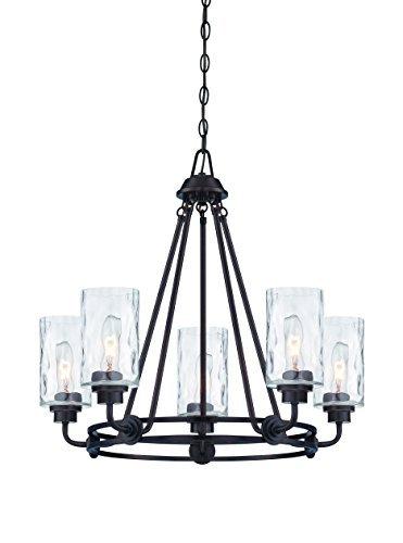 (Designers Fountain 87185-OEB Gramercy Park 5 Light Chandelier)
