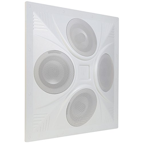 - Pure Resonance Audio SD4 SuperDispersion Ceiling Speaker Array, Built-In 8 Ohm/70 V Transformer