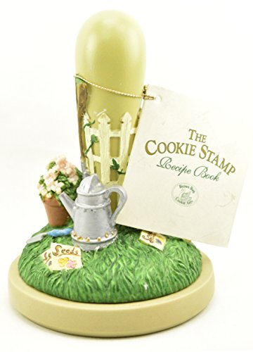 Brown Bag Cookie Art Stamp THE GARDEN #27 Decorative Handle and Booklet