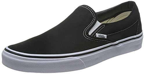 Furgoni Classici Slip On White Da Donna Nero / Bianco