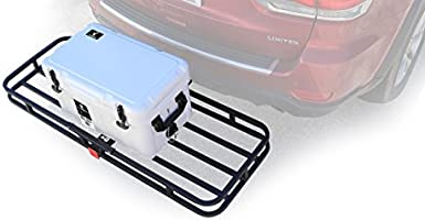 Camco 48475 Rv Trailer Hitch Mount 130cm X 44cm X 8 3cm Cargo Carrier 230kg Capacity Buy Online At Best Price In Uae Amazon Ae