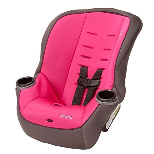Cosco APT 50 Convertible Car Seat in Verry Berry, 50lb harness system to stay safer longer (Verry Berry)