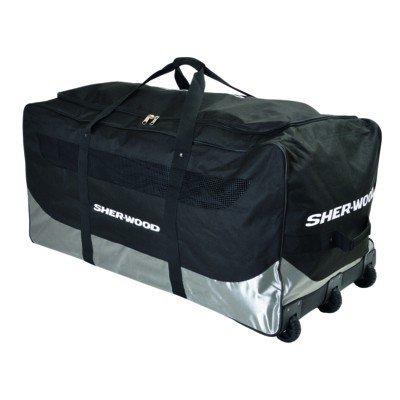 SHER-WOOD SL800 Goalie Wheel Bag - 111 x 56 x 55 cm Black 111x 56x 55cm/92L 80067 Sherwood