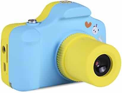 Powpro Pcam Pow-YT001 Mini 1.5 Inch Screen Children Kids Digital Camera (Blue)