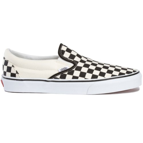 Vans Slip On Black/White Checkers Size 9 by Vans