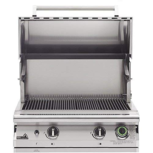 Pgs T-series Commercial 30-inch Built-in Natural Gas Grill With Timer - S27tng (Pgs Gas Grills)