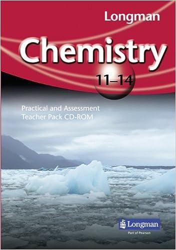 Longman Chemistry 11-14: Practical and Assessment Teacher Pack CD ...