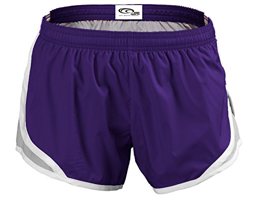 EMC Purple Silver Momentum Sports Shorts r7qPr0a