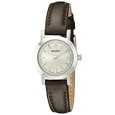 Bulova Women's Dress - 96L210 Brown Watch