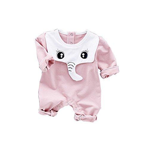Baby Jumpsuit Toddler Infant Long Sleeve Bodysuit Baby Boy Girl Animal Elephant Costumes Romper for $<!--$12.99-->