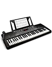 $69 » Alesis Melody 54 Key Electric Keyboard Piano with Speakers, Microphone, Music Rest, Educational Tools, 300 Sounds, 300 Rhythms and 40 Demo Songs