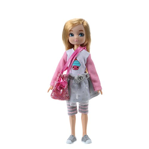 Lottie Doll by LT066 Birthday Girl 7 Inch Doll With Blond Hair And Blue Eyes Style: no fringe -