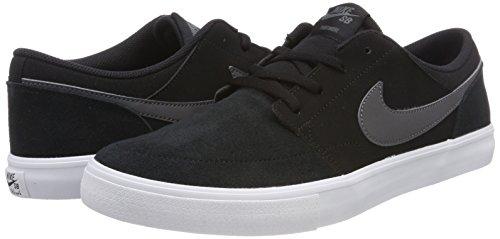 Fonc Chaussures Ii Portmore Hommes Skateboard Gris noir Solaires Sb blanc Noires De Pour Nike A76wUU