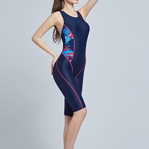 Zhuhaitf Alta calidad Womens Adult Elasticity Waterproof Swimsuit Charming Tight Swimwear V5588G1