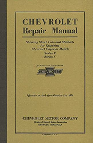 41i4I5ZVNYL._SX324_BO1204203200_ 1925 1926 chevrolet car truck shop manual chevy (with decal) gm