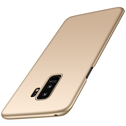 Anccer Compatible for Samsung Galaxy S9 Plus Case [Colorful Series] [Ultra Thin Fit] Hard Slim Cover for Galaxy S9 Plus (Gold)