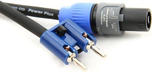 (Pro Co S14BN-25 Banana-Speakon Speaker Cable - 25')