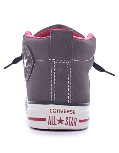 Converse Chuck Taylor Street Mid Suede mixte adulte, suède, sneaker high