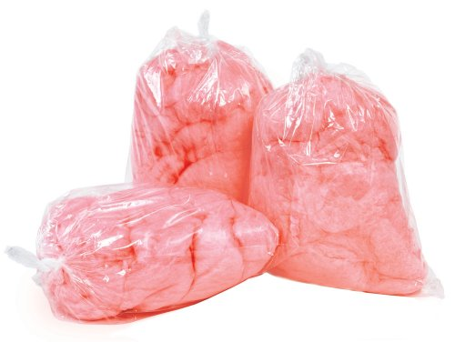 Paragon Plastic Cotton Candy Bag without Imprint, 1,000-Count Case
