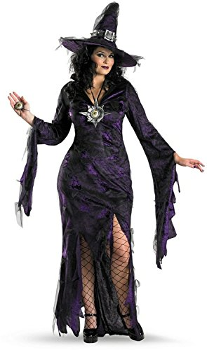 Sorceress Adult Costume - (Plus Size Witches Costume)