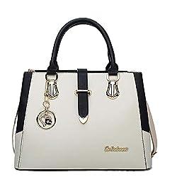 Ftsucq Womens Love Satchels Shoulder Handbags Casual Messenger Bag Hobos Satchels Purse White