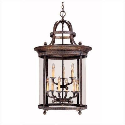 World Imports Lighting 1609-63 Chatham 9-Light Hanging Lantern, French Bronze