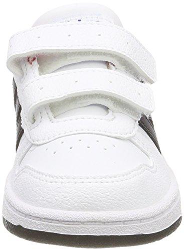 adidas Unisex Baby Vs Hoops 2.0 CMF I Gymnastikschuhe Mehrfarbig (Ftwr White/core Black/scarlet)