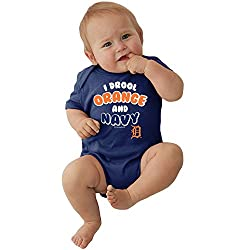 Detroit Tigers MLB Newborn Infant I Drool Bodysuit Creeper (0-6 Months)