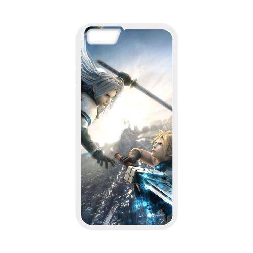 Final Fantasy 023 coque iPhone 6 Plus 5.5 Inch Housse Blanc téléphone portable couverture de cas coque EOKXLLNCD10813