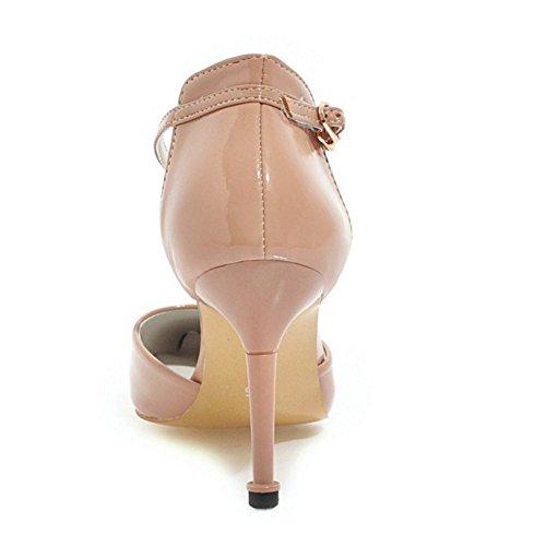 Scarpe Da 9 A Eleganti Donna Punta Taoffen Apricot Z7w4q8w
