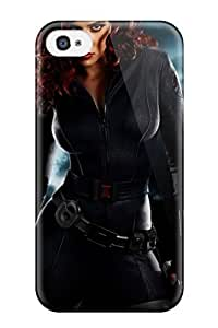 Iphone 4/4s Case Slim [ultra Fit] Scarlett Johansson Protective Case Cover