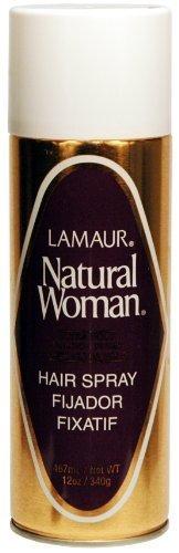 Lamaur Natural Woman Hair Spray 12 oz. (Pack of 6) by Lamaur