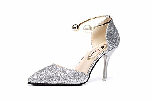 Nítidas Y Yin Zapatos Sandalias Elegantes Mujer Mujeres Hueco De Yuch Bellas PX6I4q