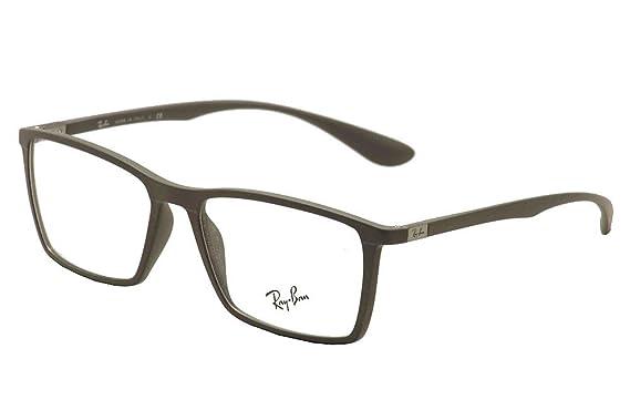 24276a83970 Amazon.com  Eyeglasses Ray-Ban Optical RX 7049 F 5521 MATTE GREY ...