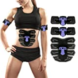Swath - Abdoman Arm Muscle Training Gear Black Technology Electrical Shape Trainer - Belt - 1PCs