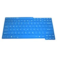 """Ultra Thin Silicone Keyboard Protector Skin Cover for IBM Lenovo ThinkPad X200, X200s, X200T, X201, X201S, X201T, X201i, X300, X301, X400, T400, T500, R400, R500, W500 Us Layout (if your """"""""enter"""""""" key looks like """"""""7"""""""", our skin can't fit) - Retail Packaging (Blue)"""
