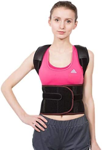 調節可能な肩ブレース矯正プレミアムバックサポートストラップ姿勢トレーナーブレース理学療法用男性または女性用 - 目に見えない服用 (Size : XXL)