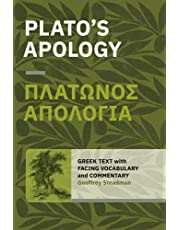 Plato's Apology: Greek Text with Facing Vocabulary and Commentary