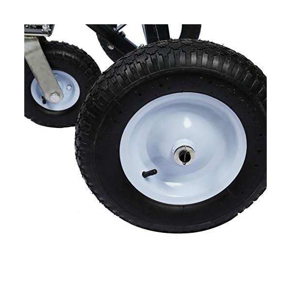 41i4ON3mIBL Rangierhilfe für Anhänger & Wohnwagen, 3 Räder, bis 453,6 kg, höhenverstellbare Kupplungskugel