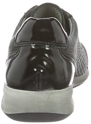21 12 34453 schwarz Femme 05 Grau à Crow Ara Chaussures Lacets R6UqRE
