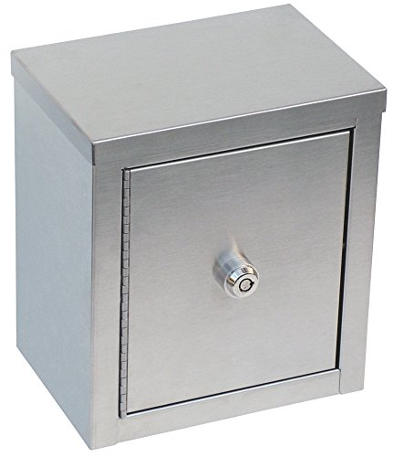 Double Door Mini Stainless Steel Narcotic Cabinet (9